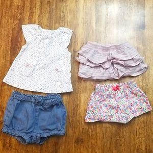 Baby Girl Shorts Bundle